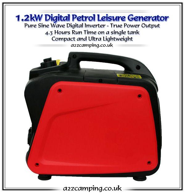 1.2kW Digital Petrol Generator Ultra Lightweight Edition