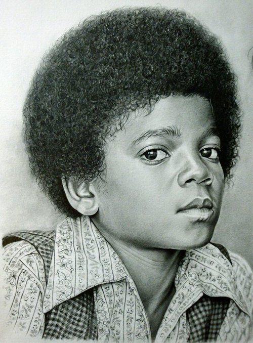 """Michael Jackson 1"" by ~Hongmin"