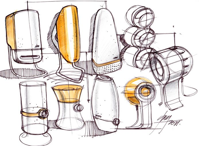 Speaker sketch
