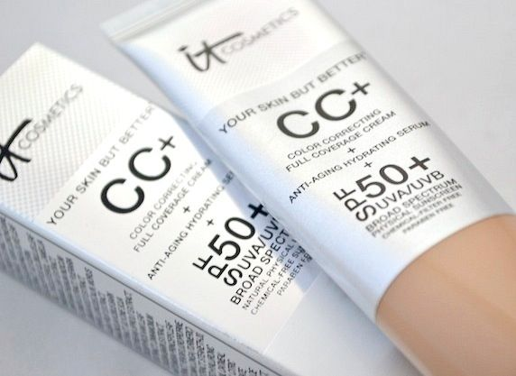 BeautyTidbits : CC Cream to fall in love with - It Cosmetics Your Skin But Better CC+ Cream SPF 50