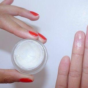 You can use a dewy, sheer highlighter like this one.   Strobing Is The New, Idiotproof Way To Contour Your Face