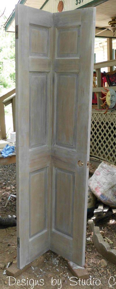 Build a Corner Bookcase Using a Door | Hometalk
