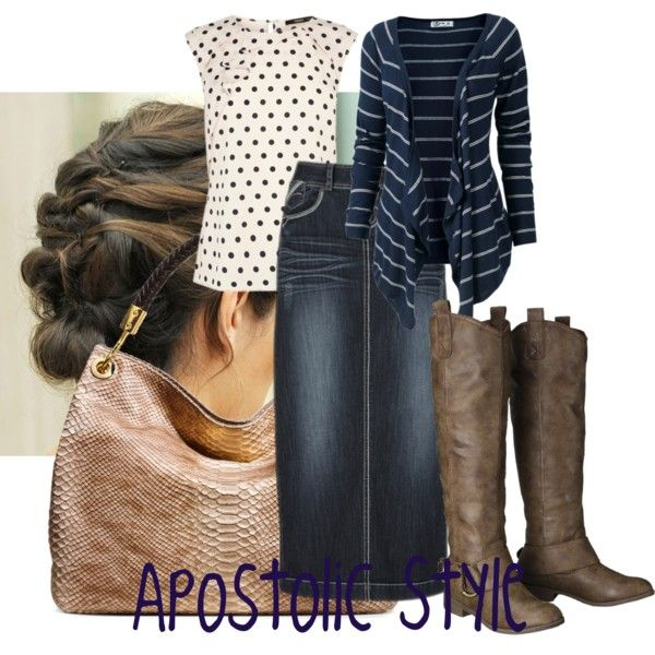 Apostolic Style, created by emmyholloway on Polyvore