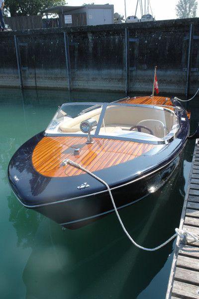 Caprice inlaid mahogany decks