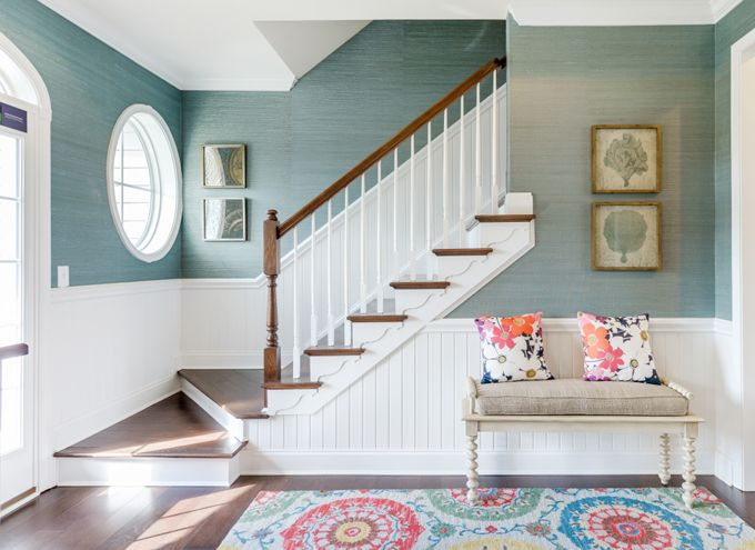 decorating tips for styling a staircase gallerie b blog - Wallpaper For Homes Decorating