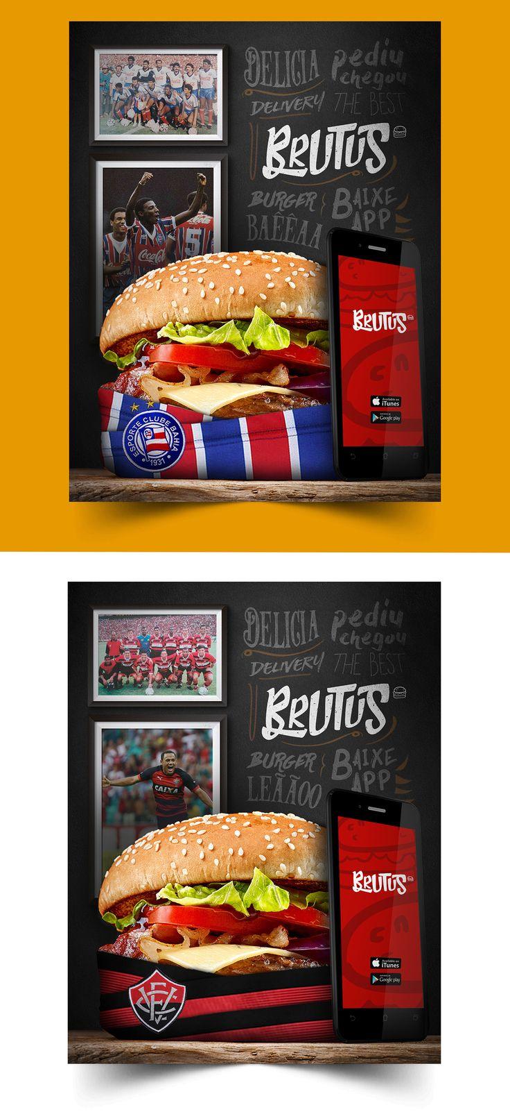 Brutus Burger - Delivery on Behance