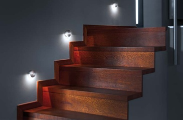 spot led twins escalier love the wood accent escalier pinterest the o 39 jays wood. Black Bedroom Furniture Sets. Home Design Ideas