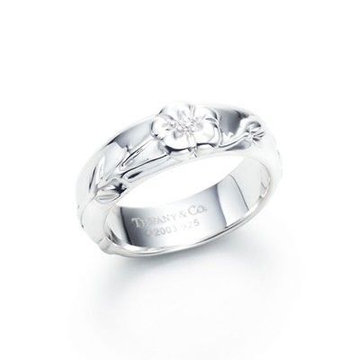 Tiffany And Co Ring Flower Silver 009
