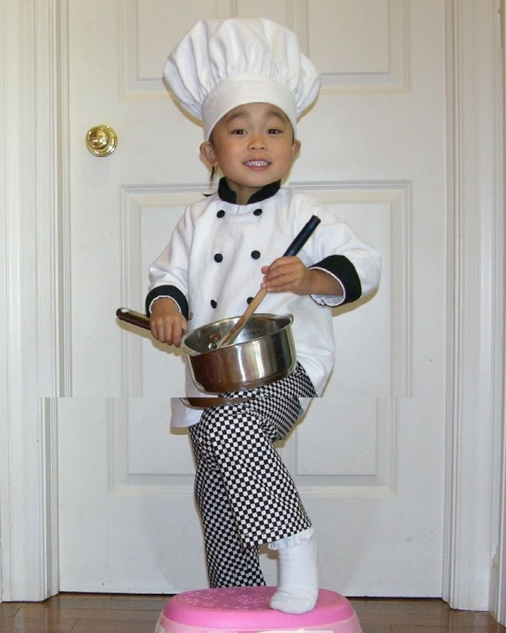 toddler Chef hat coat and pants Halloween costume by babybayrs, $68.00
