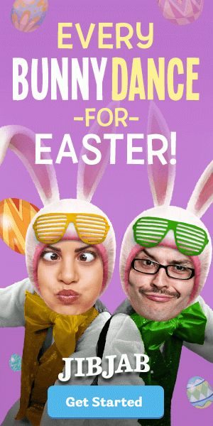 Get out those stunnas & bunny ears. It's time for every bunny to get down this Easter with a silly, cute eCard.