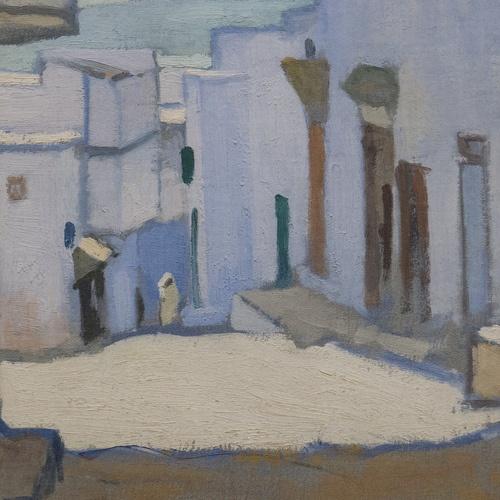 """Albert Marquet (1875-1947) """"La citadelle à Tanger"""", dét. (1913) musée de Grenoble (Isère, France)"""