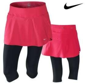 Nike skapri oleander/zwart dames bij Hardloopaanbiedingen.nl #Nike #hardlooprokje #hardloopaanbiedingen
