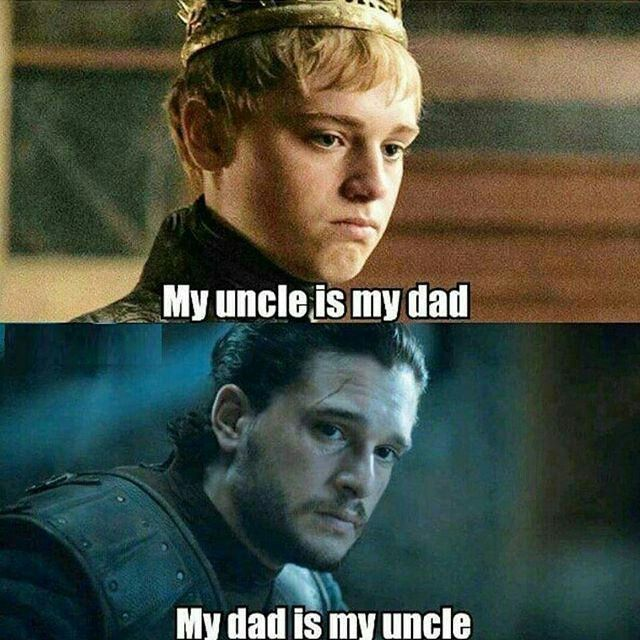 Game of thrones funny meme #complicated