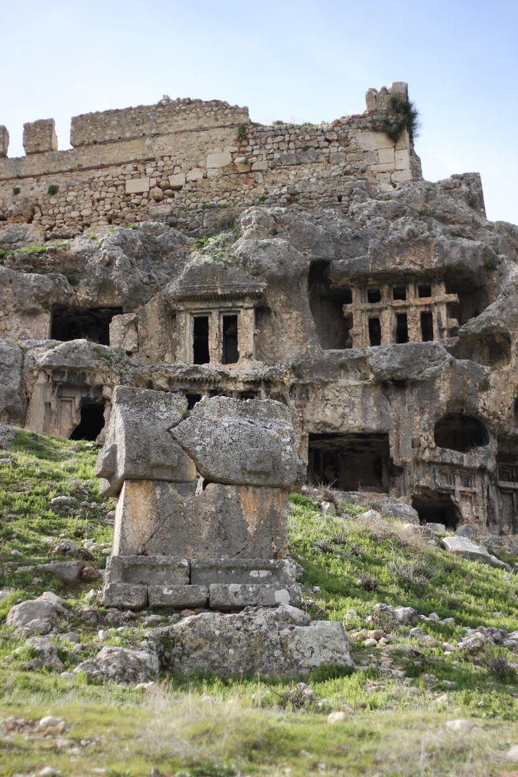 Tlos antik kenti (ancient city) / Fethiye - Muğla, TURKEY.