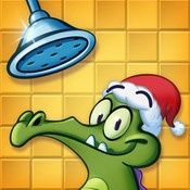 Where's My Water.  This is a really great game with free updates - not as frequent as Angry Birds unfortunately.
