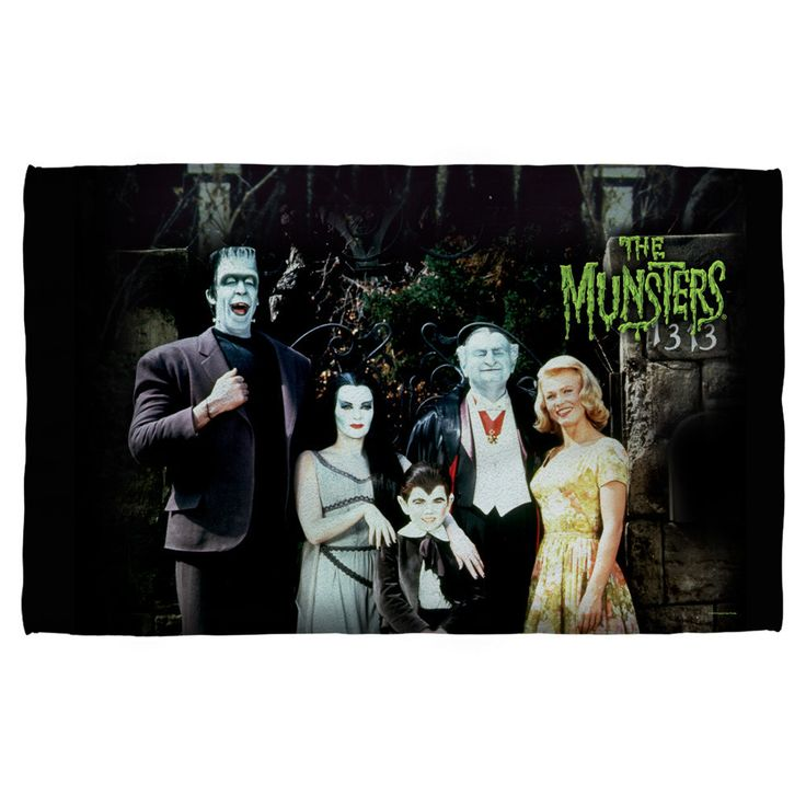 Munsters Family Golf Towel
