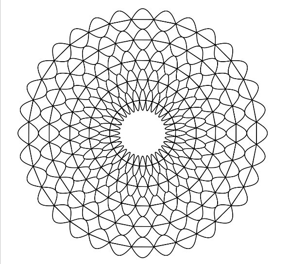 how to make your own mandala coloring pages for free online