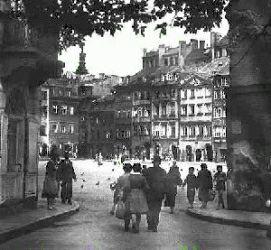 ulica Zapiecek - stare zdjecia