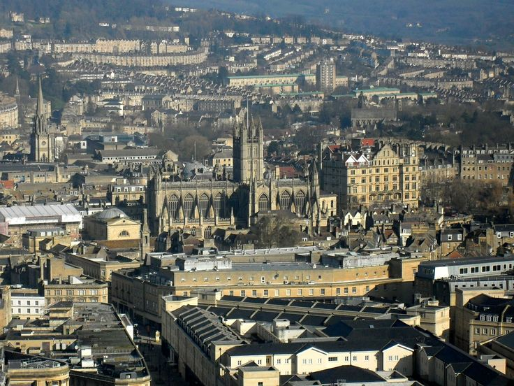 Bath as seen from Alexandra Park