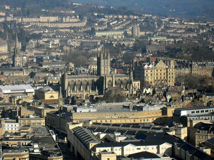 Bath as seen from Alexandra Park
