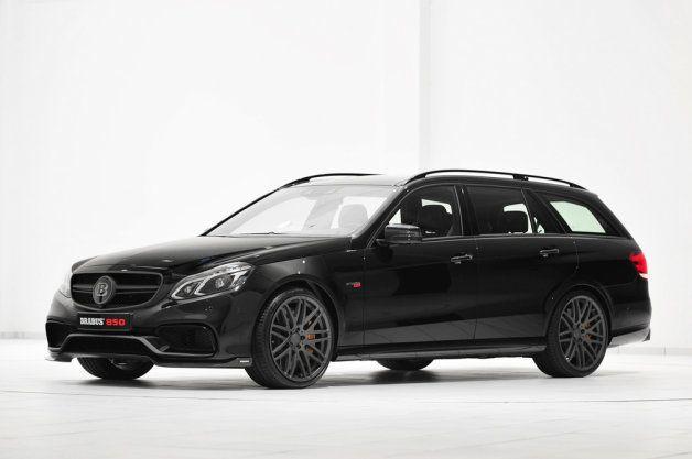 Mercedes E63 AMG wagon gets 838 hp thanks to Brabus