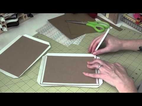 5x7 Envelope Mini Album - Part 1 - Covers - YouTube
