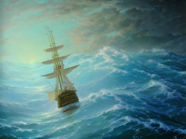 Море Георгия Дмитриева