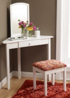 McLeland Corner Vanity Set  White at Gettington 57 best images on Pinterest vanity Bedroom