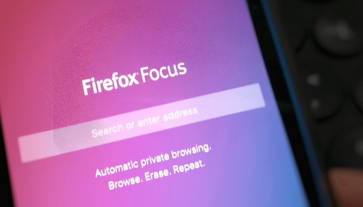 Firefox Focus is a more anonymous browser for Android