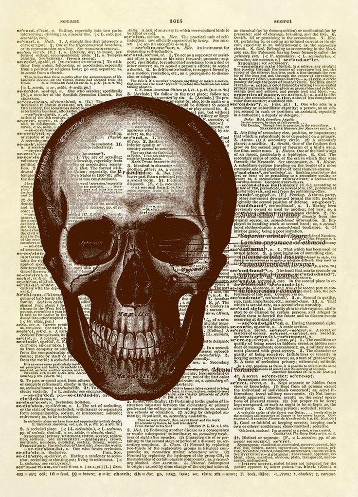 28 best Halloween Dictionary Art Prints images on Pinterest ...