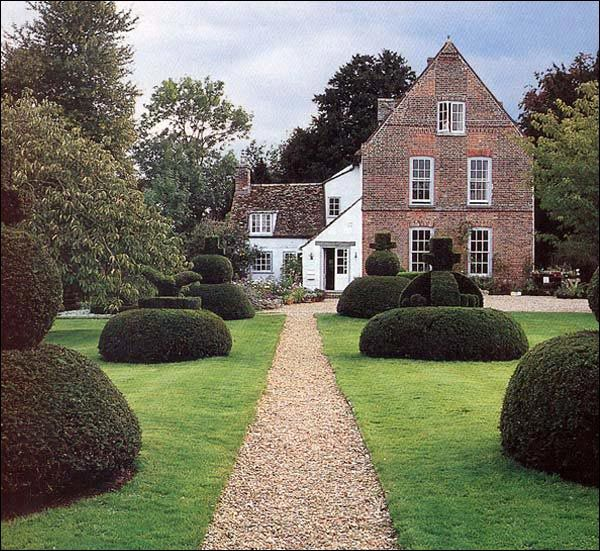 The Manor, Hemmingford Grey, Cambridgeshire, England, said to be the oldest continually inhabited house in Britain, built in 1130, and was home of children's author Lucy M Boston