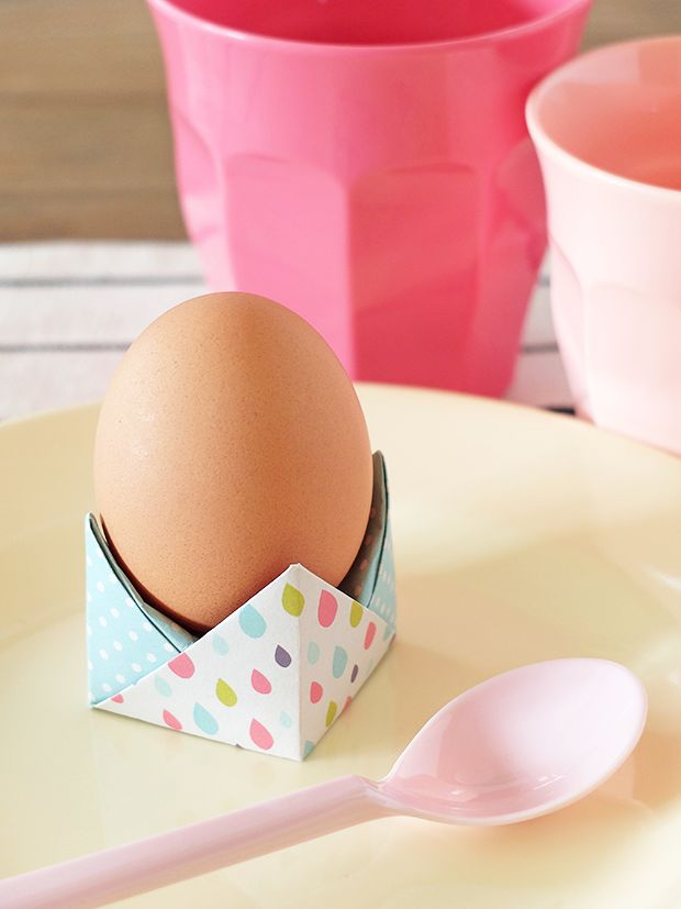 Bluebells Design - Un porta uovo origami