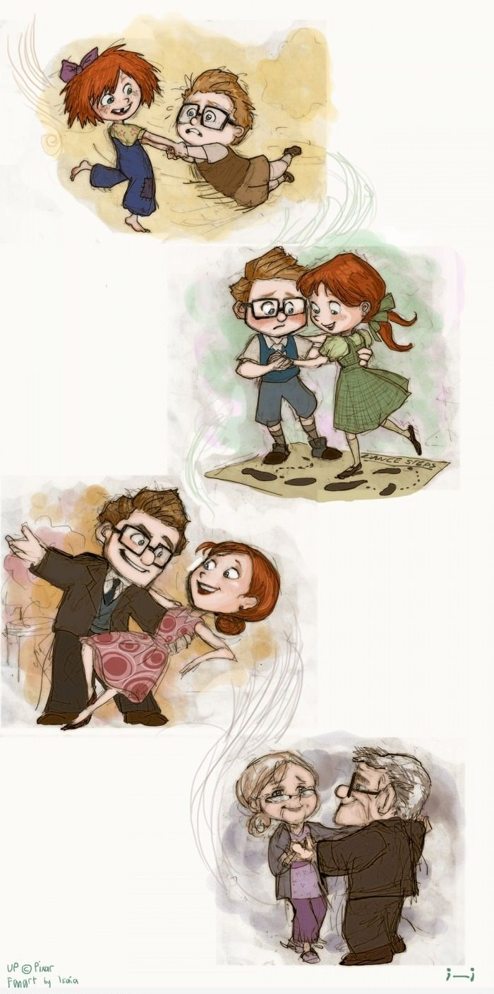 30 Day Disney Challenge - Day 5: Favorite Couple: Carl and Ellie from UP <3 they are so cute and its so sad!!