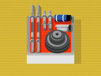 Gym Icon Design