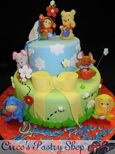 Find This Pin And More On Winnie The Pooh Cakes By Sharynrichards.