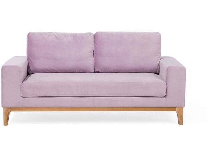 2 Sitzer Sofa Samtstoff Rosa Tidan Love Seat Home Decor Furniture