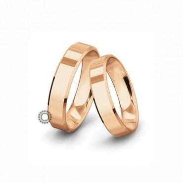 Βέρες γάμου Saint Maurice Classic ροζ χρυσός πλάτους 5.5mm επίπεδες εξωτερικά & ανατομικές | Γαμήλιες βέρες Saint Maurice ΤΣΑΛΔΑΡΗΣ στο Χαλάνδρι #SaintMaurice #βερες #γαμου #χρυσος #rings
