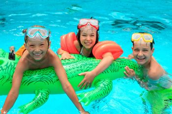 It is recommended that kids get at least 60 minutes of physical activity each day.   Swimming Pool Exercises for Kids