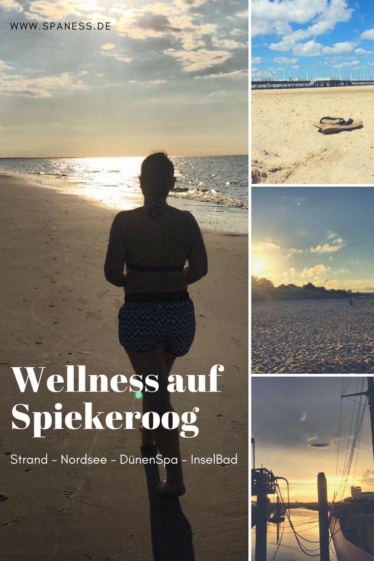 Spiekeroog Urlaub - Spiekeroog Auszeit - Wellnessurlaub auf Spiekeroog - Dünenspa, Inselbad, Meer und Muscheln.