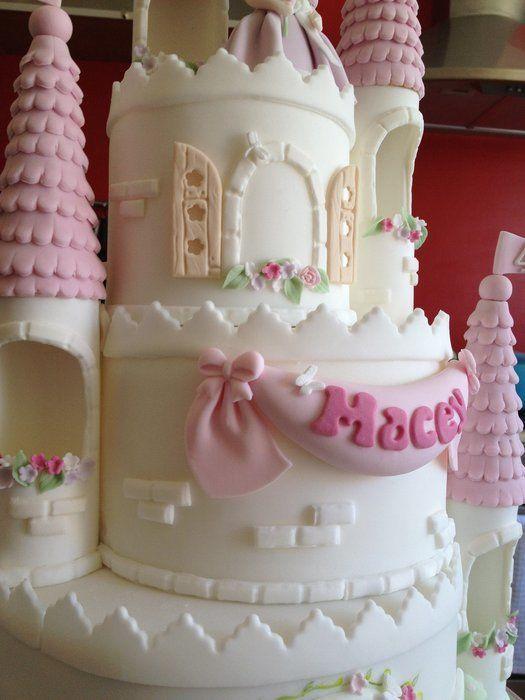 Princess Castle Cake                                                                                                                                                      More