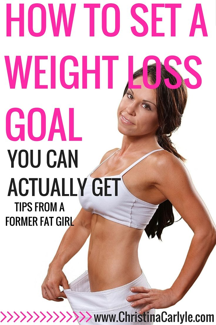 I Explain How To Set A Weight Loss Goal (you Can Actually Get)