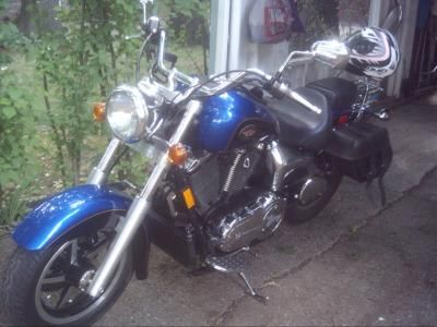 I LOVE this bike!  I traded my 750 Honda Shadow Ace for it.  I knew my husband and I would like to take long trips and I thought the bigger bike would