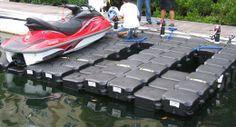 Lungrin - floating jet ski dock