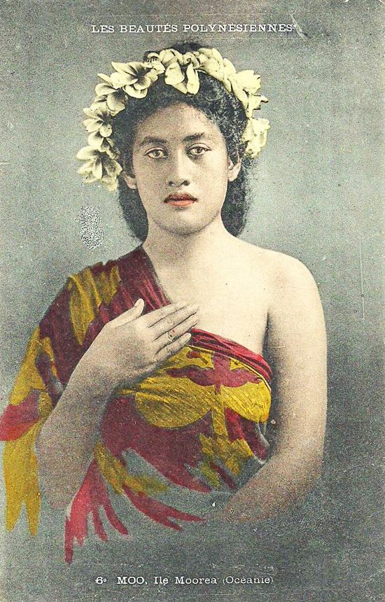 1907 - Tahiti French Polynesia