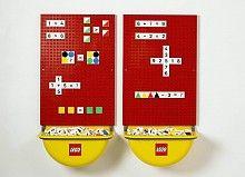 LEGO DUPLO Speelwanden set.  Wandspeelgoed met opbergbakken voor Duplo mozaiek en cijfers en letters.  Een educatief speelmeubel voor de wachtkamer van tandarts, huisarts etc.