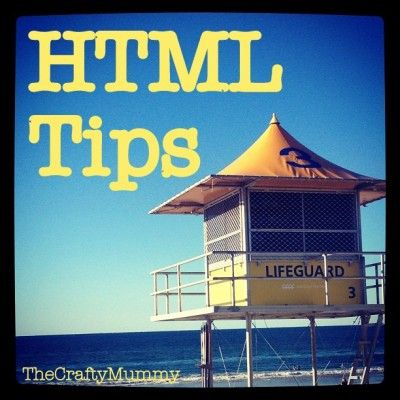 HTML Tip for Bloggers: Get your links to open in a new window  #blogging #tips #smallbusiness