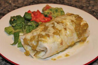 Costa Vida Sweet Pork Burritos with Cilantro-Lime Rice and Garlic Black beans