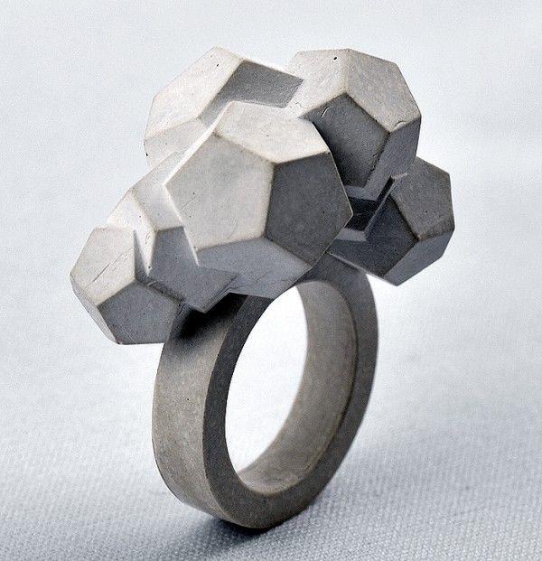 Mareike Kanafani cement ring ... beautiful ^_^