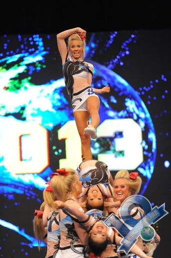 Cheer Athletics Panthers Worlds 2013 the c to the CA hehe