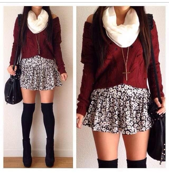 210 best images about Girly Girly.. on Pinterest | Boyfriend jeans Cute skirt outfits and Skirt ...
